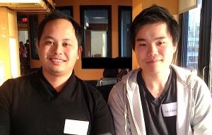 Squadle's Brendan Bencharit & Le Zhang